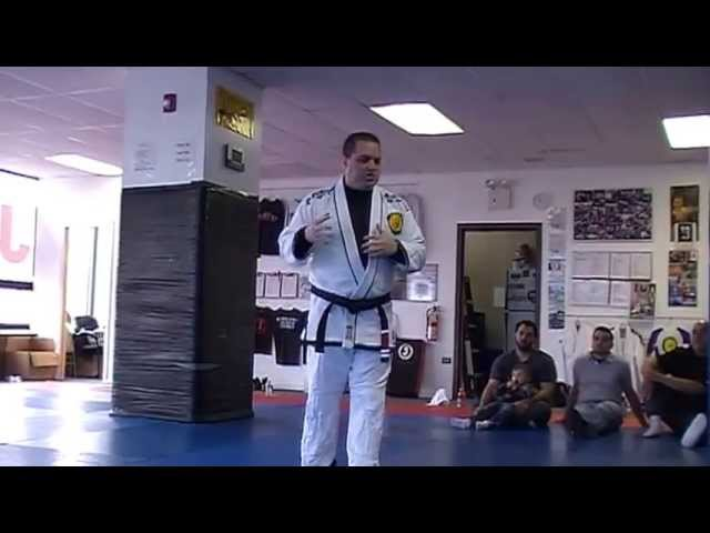 Professor Chris Savarese No Excuses speech to Savarese BJJ students