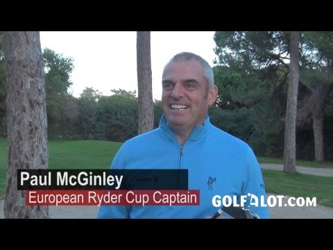 Paul McGinley TaylorMade RocketBallz RocketBladez Interview