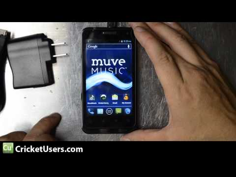 CricketUsers.com - Cricket Wireless ZTE Engage (V8000) ICS Android Device Unboxing and First Look