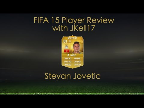 FIFA 15 ULTIMATE TEAM PLAYER REVIEW - STEVAN JOVETIC 81 MANCHESTER CITY