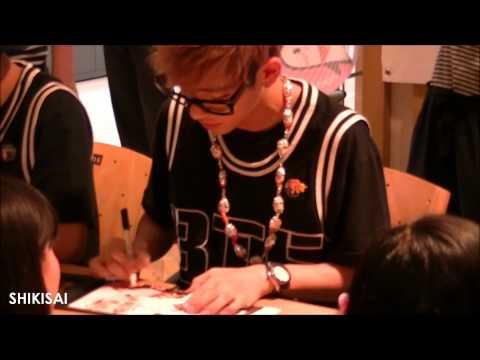 [fancam] 130629 BTS fansign @ Ilsan - V