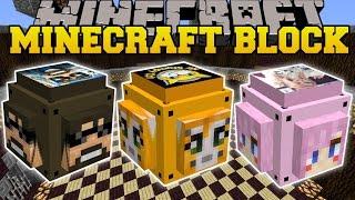Minecraft: YOUTUBE LUCKY BLOCK (STAMPYLONGHEAD, SSUNDEE, & LDSHADOWLADY!) Mod Showcase