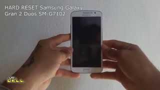 Hard Reset no Samsung Galaxy Gran 2 Duos TV (SM-G7102) #UTICell