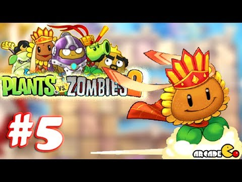 Plants vs Zombies 2: Journey To The West - PVZ Walkthrough Part 5