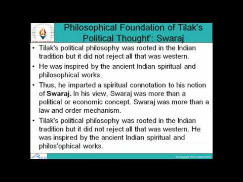 Modern India Political Thoughts-Session-8