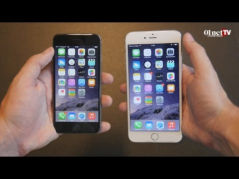Le grand test des iPhone 6 et iPhone 6 Plus