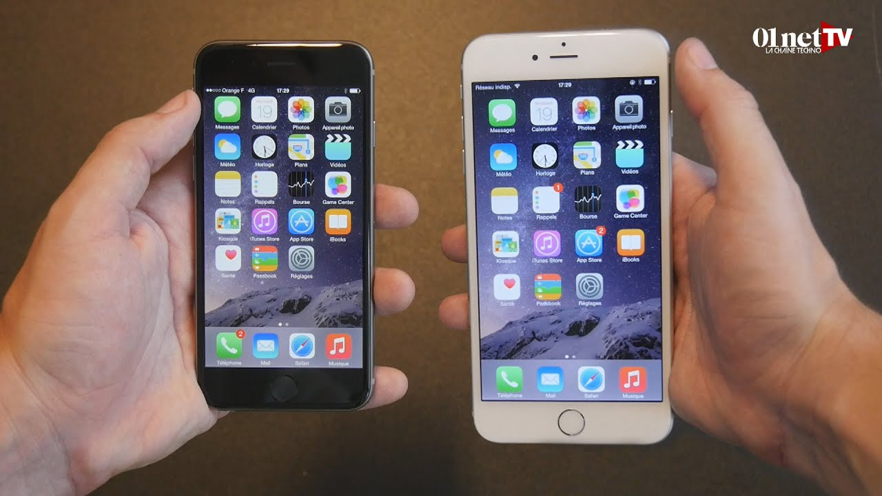 le Grand Test Des Iphone 6 et