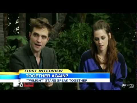 Kristen Stewart, Robert Pattinson Entertainment Tonight Interview; 'Twilight' Stars on Sequel
