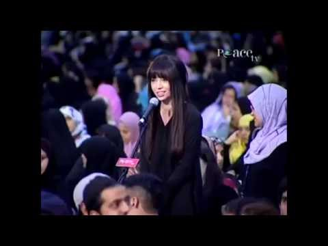 (must See)beautiful Lady Ask Leaving Islam (question) - Dr Zakir Naik video