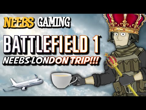 Battlefield 1 Reveal - The Neebs London Trip!
