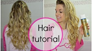 Capelli mossi in pochi minuti | Hair Tutorial