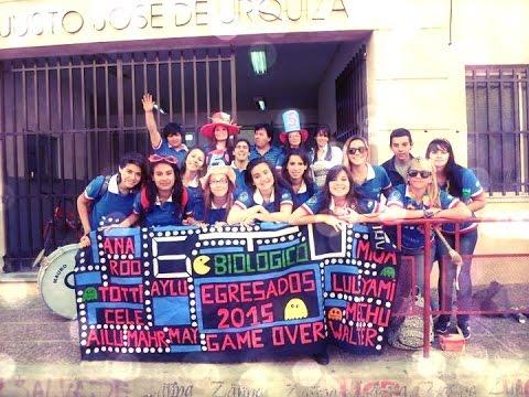 Presentación de la remera de los 5tos del Colegio Superior del Uruguay T.T