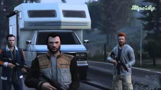 "Rick found ""Trevor"" on The Walking Dead (GTA V Machinima)"