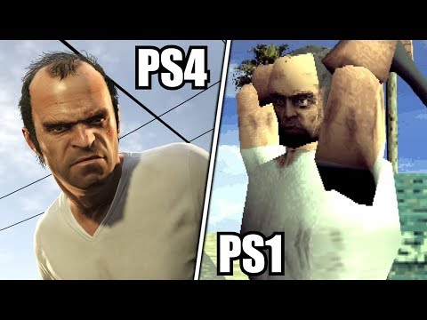How would you see GTA 5 on PS1?