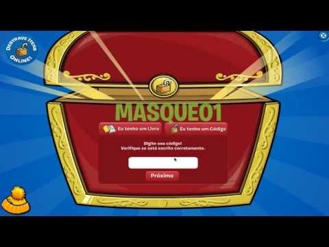 Club Penguin - Código para desbloquear Máscara de Super-Herói + 500 moedas