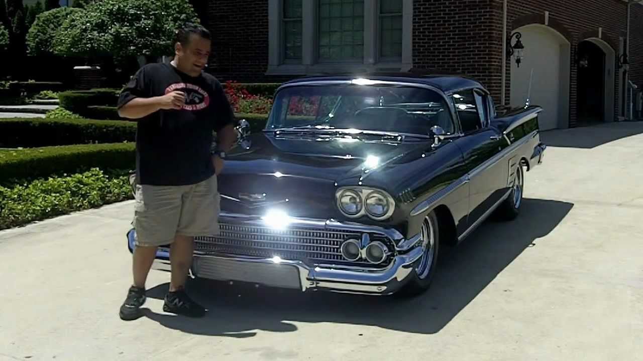 1958 Chevy Impala Classic Muscle Car For Sale In Mi
