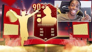 WE GOT A CRAZY 90+ PLAYER PICK! OPENING MY ELITE 1 REWARDS! (27-3)