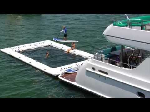 M/Y Just Enough: Yacht Slide + Critter Free Pool & Liquid Rail Video
