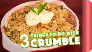 3 Amazing Crumble Toppings