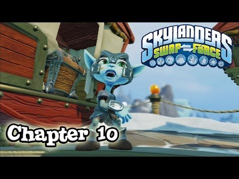Let's Play Skylanders SWAP FORCE - Chapter 10 BONEY ISLANDS (Hard Mode)