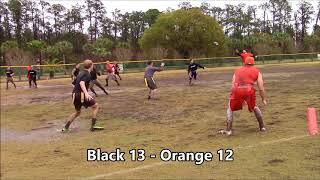 February 28, 2015 - 2 Orange vs 4 Black - Idlewild Winter League Football Playoffs Game 7