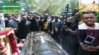 Mazishi ya kanumba  kingwendu Alia