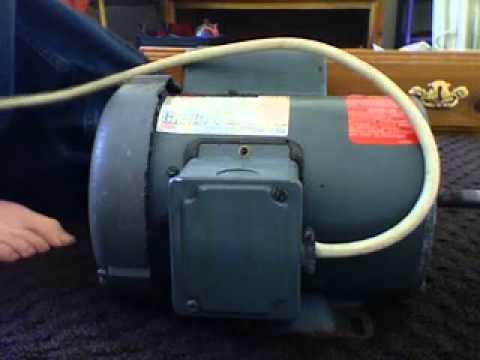 Ajax 1 1 2 Hp Electric Motor Youtube