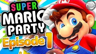 Super Mario Party Gameplay Walkthrough - Episode 1 - New Mario Party! Whomp's Domino Ruins! (Switch)