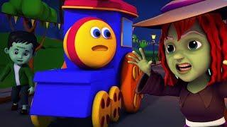รถไฟบ๊อบฉลองฮาโลวีน   สุขสันต์วันฮาโลวีน   บทกวีเด็ก Bob Train Halloween Song