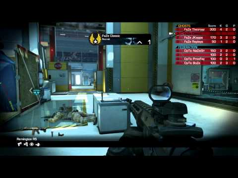 Scuf Gaming Showdowns OpTic Gaming vs FaZe Red Game 2 May 8 2014