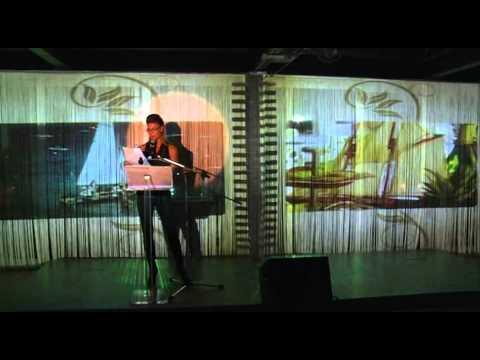 Martina Colombari legge Tondelli al TTV Riccione