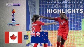 Canada 2-0 New Zealand | Women's World Cup Highlights