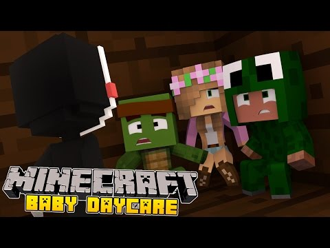 Minecraft -Baby Day Care- LITTLE KELLY CAPTURING BABY FREDDY!