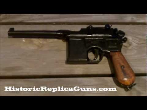 Denix 1896 Mauser Broomhandle C96 Non-firing Replica Gun
