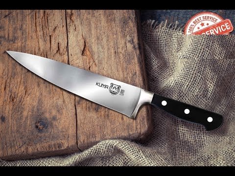 Four Month Reviews: The Kuma 8in Chef Knife
