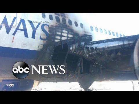 British Airways Jet Bursts Into Flames at Las Vegas Airport