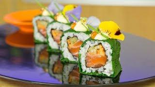 Salmon Paradise Sushi Roll - How to Make Sushi