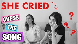 Download Lagu GUESS THE SONG CHALLENGE *EMOTIONAL* **SHE CRIED** Gratis STAFABAND