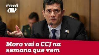 Moro vai a CCJ na semana que vem para evitar CPI no Senado