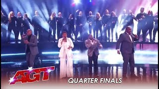 Voices of Service: Collab With Military Choir For WOW Live Performance! | America's Got Talent 2019