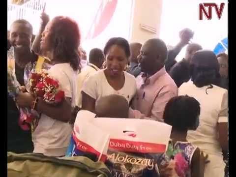 She-Cranes return from World Cup to grand welcome