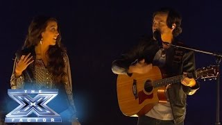 "Alex & Sierra ""Heard It Through The Grapevine"" - THE X FACTOR USA 2013"