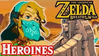 Breath of the Wild's Seven Heroines - Zelda Theory