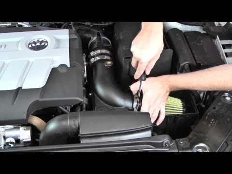 AFE Stage 2 SI Cold Air Intake Install: 2012 VW Jetta 2.0L TDI