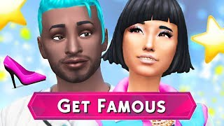 🎬⭐️ THE SIMS 4 GET FAMOUS - Create a Sim Review 💄