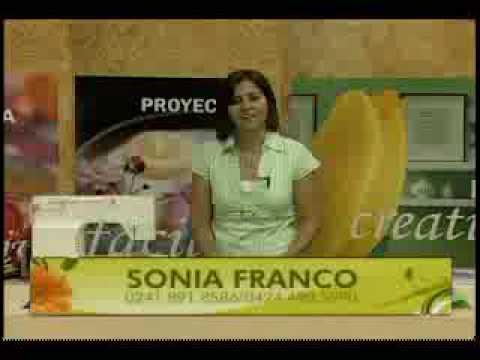 Sonia Franco, Nuestra Casa, Lenceria de Cocina 1 - YouTube