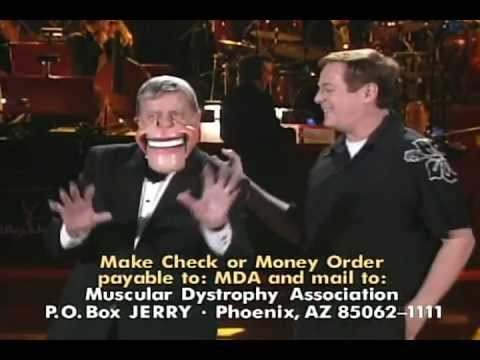 2007 Jerry Lewis Telethon - Ron Lucas and Jerry Lewis bring down the house!
