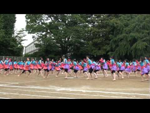 お茶高 2010体育祭「神撰組」 JK頑張りました!絶叫ダンス Music Videos