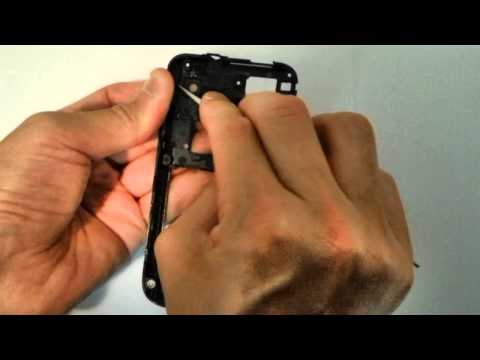 CAMERA FRAME SURROUNDING HOLDER + LENS Instructions Guide FIX Your Samsung i9003 i9000 Galaxy S SL