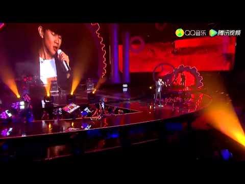 林俊杰 - 2015QQ音乐年度盛典 她说 + 可惜没如果 + 浪漫血液 + 爱的鼓励  + 因你而在  清唱
